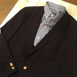 Brooks Brothers classic navy blazer